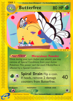Butterfree card for Expedition Base Set