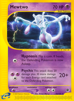 Mewtwo card for Expedition Base Set