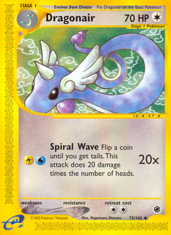 Dragonair card for Expedition Base Set
