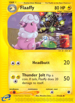 Flaaffy card for Expedition Base Set