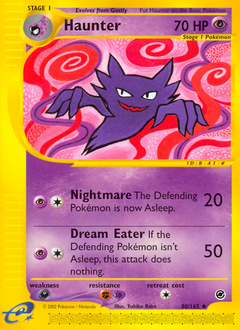 Haunter card for Expedition Base Set