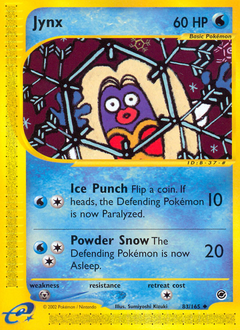 Jynx card for Expedition Base Set