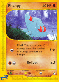 Phanpy card for Aquapolis