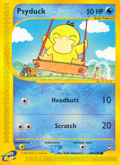 Psyduck card for Aquapolis