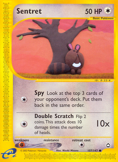 Sentret card for Aquapolis