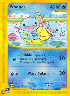 Wooper card for Aquapolis