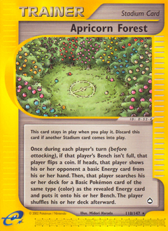 Apricorn Forest card for Aquapolis