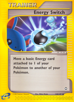 Energy Switch card for Aquapolis