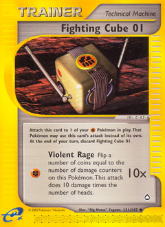 Fighting Cube 01 card for Aquapolis