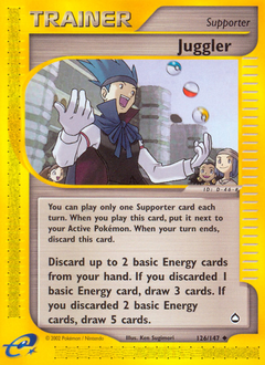 Juggler card for Aquapolis
