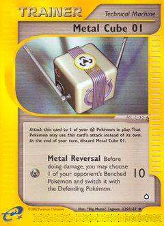 Metal Cube 01 card for Aquapolis