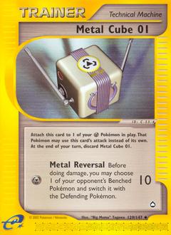 Metal Cube 01