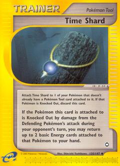 Time Shard card for Aquapolis