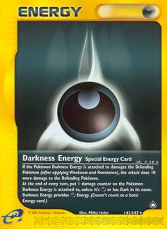Darkness Energy