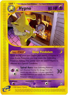 Hypno card for Aquapolis