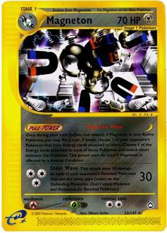 Magneton card for Aquapolis