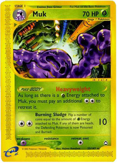 Muk card for Aquapolis