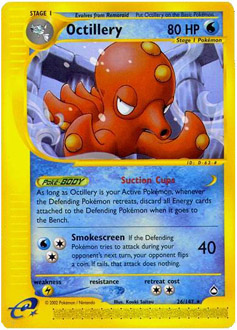 Octillery card for Aquapolis