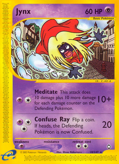 Jynx card for Aquapolis