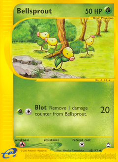 Bellsprout card for Aquapolis