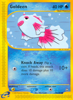 Goldeen card for Aquapolis