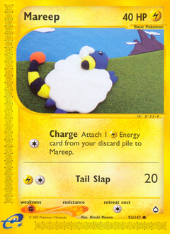 Mareep card for Aquapolis