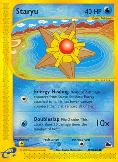 Staryu card for Skyridge