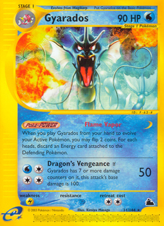 Gyarados card for Skyridge