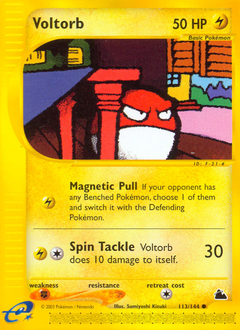 Voltorb card for Skyridge