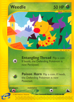 Weedle card for Skyridge