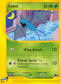 Zubat card for Skyridge