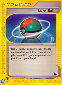 Lure Ball card for Skyridge