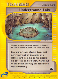 Underground Lake card for Skyridge