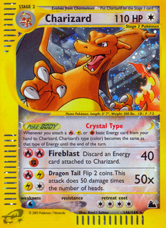 Charizard card for Skyridge