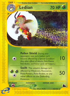 Ledian card for Skyridge