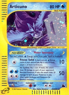 Articuno card for Skyridge