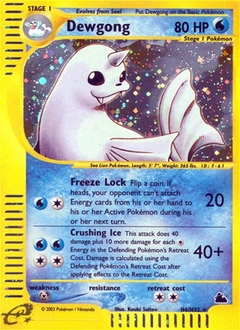 Dewgong card for Skyridge