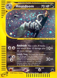 Houndoom card for Skyridge