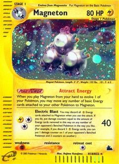 Magneton card for Skyridge