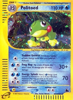 Politoed card for Skyridge