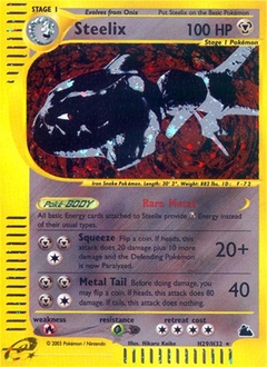 Steelix card for Skyridge