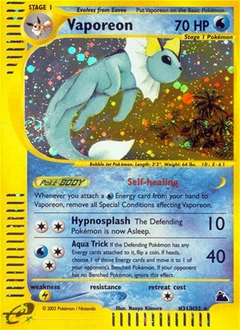 Vaporeon card for Skyridge