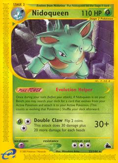 Nidoqueen card for Skyridge