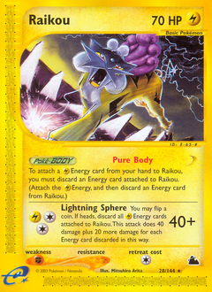 Raikou card for Skyridge