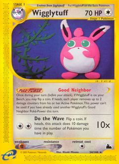 Wigglytuff card for Skyridge