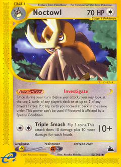 Noctowl card for Skyridge