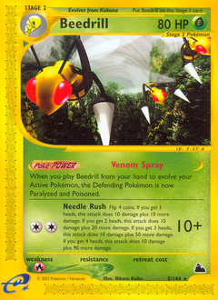 Beedrill card for Skyridge