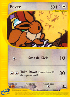 Eevee card for Skyridge