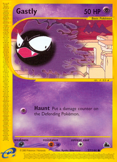 Gastly card for Skyridge