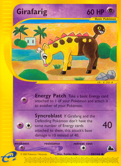 Girafarig card for Skyridge